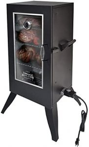 Masterbuilt 30162EW Electric Smoker with Window, 30, Black